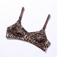 Load image into Gallery viewer, Galaxy Non Padded Cotton Bra - Tiger Print (006)