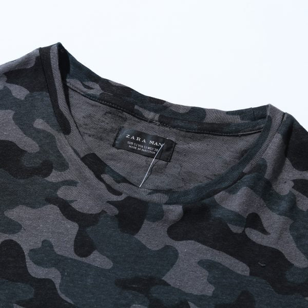 88cb534c5 ... Load image into Gallery viewer, ZARA – CAMOUFLAGE PRINT T SHIRT (480)  ...