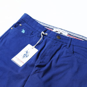 U.S POLO ASSN BLUE Regular Fit Chino