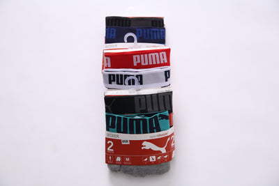 PMA - Pack of 2 Basic Short Contrast Boxers