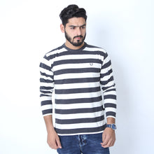 Load image into Gallery viewer, UC Full Sleeve Striped Polo (515)