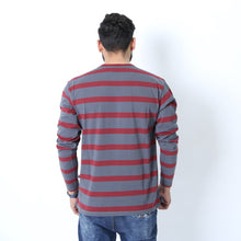 Load image into Gallery viewer, UC Full Sleeve Striped Polo (510)