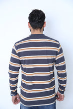 Load image into Gallery viewer, UC Full Sleeve Striped Polo (525)