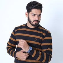 Load image into Gallery viewer, UC Full Sleeve Striped Polo (520)