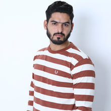 Load image into Gallery viewer, UC Full Sleeve Striped Polo (535)