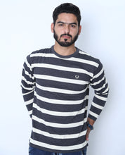 Load image into Gallery viewer, UC Full Sleeve Striped Polo (530)