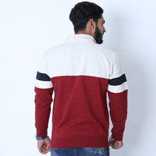 Load image into Gallery viewer, SOUL S - Premium Men's 1/4 Zip Up with Retro Stripes