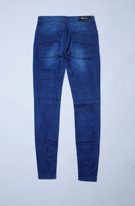 Stoneage Jeans - Skinny Textured Blue