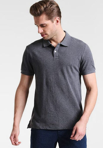 GAP - Short Sleeve Pique Grey Polo