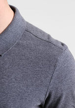 Load image into Gallery viewer, GAP - Short Sleeve Pique Grey Polo