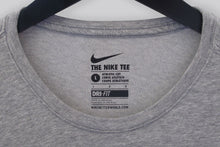 Load image into Gallery viewer, NIKE- logo crew neck GREY T-Shirt