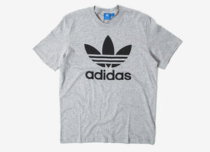 AD T Shirt With Logo GREY