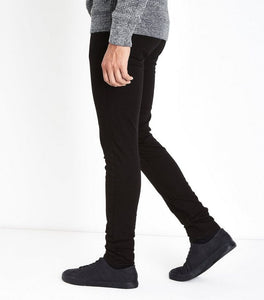 N Look- Jet Black Skinny Stretch Jeans