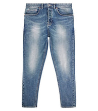Load image into Gallery viewer, NEW LOOK - Blue Vintage Wash Slightly Distressed Tapered Jeans
