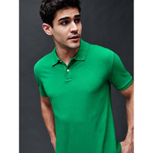 Load image into Gallery viewer, GAP - Short Sleeve Pique Green Polo
