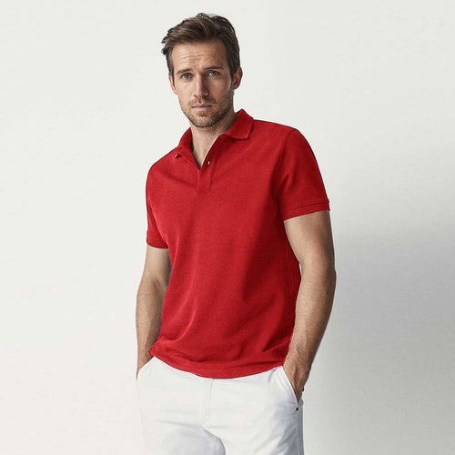 GAP - Short Sleeve Pique Red Polo
