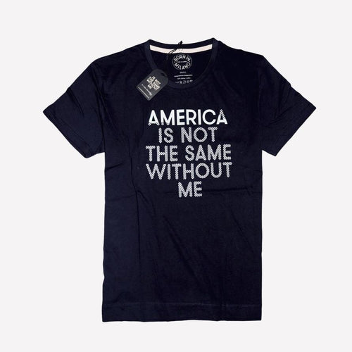 America Is Not Same Milano T-Shirt - Black
