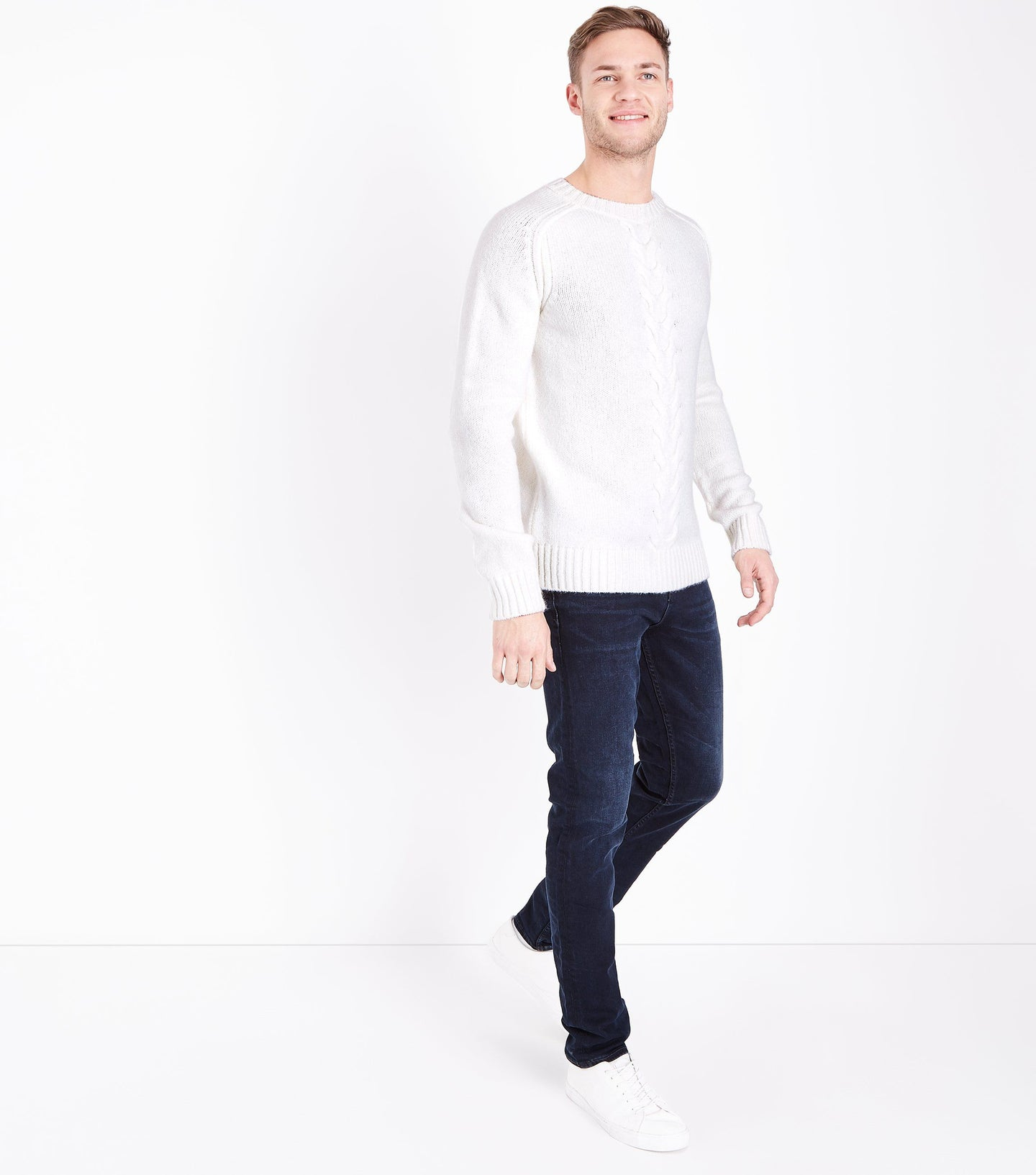 NEW LOOK - Slim fit Navy Blue Jeans