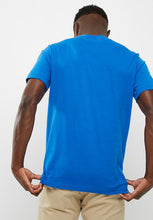 Load image into Gallery viewer, Adidas T Shirt With Trefoil Logo BLUE