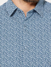 Load image into Gallery viewer, KIABI - Poplin Fitted shirt with stripes and polka dots