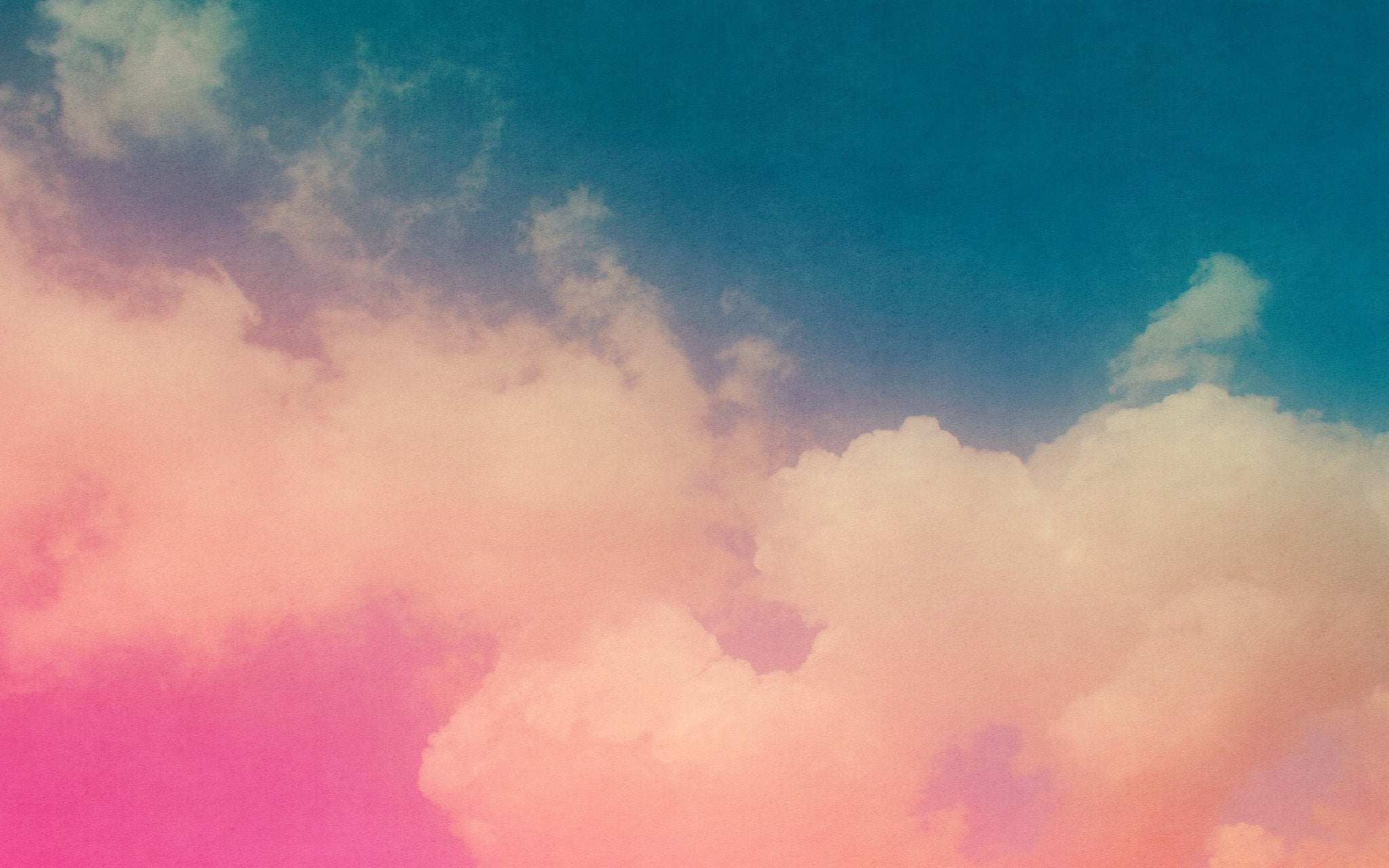 Beautiful colorful clouds