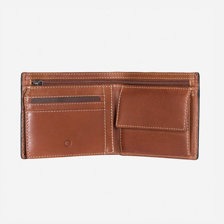 Large Billfold Wallet With ID Window