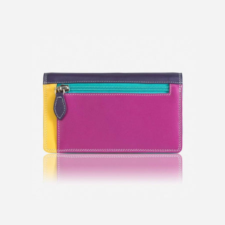 Large Flap Over Ladies Wallet, Ibiza