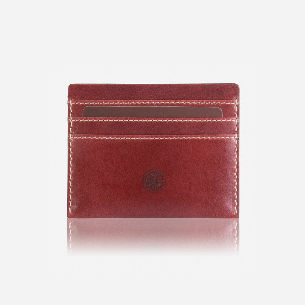 Slim Card Holder, Red