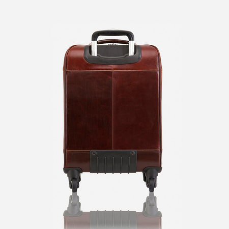 "4 Wheel Cabin Trolley 20"", Tobacco"