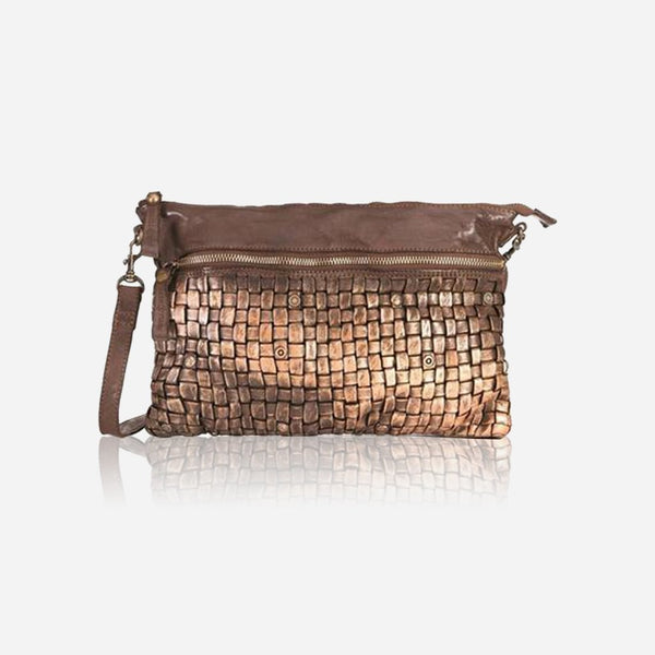 Zip Top Cross Body Bag