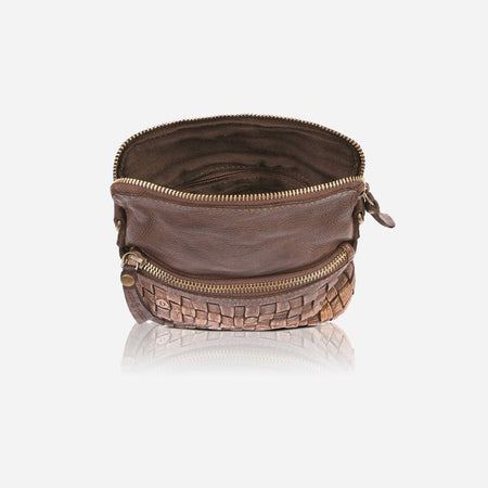 Cross Body Purse, Brown