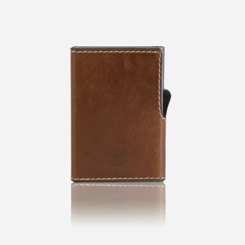 Slim Card Slide Wallet, Clay