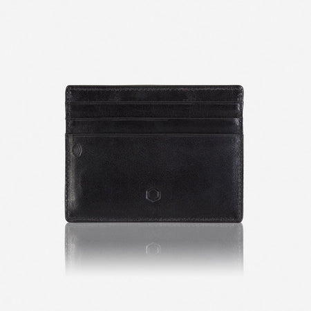 Slim Card Holder, Soft Black