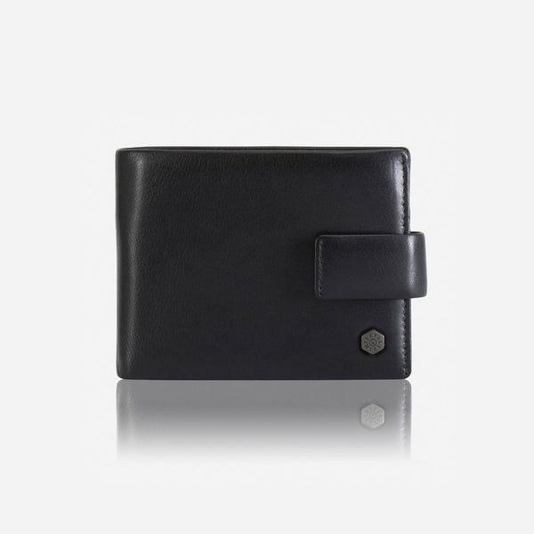 Bi fold RFID with Coin Pouch