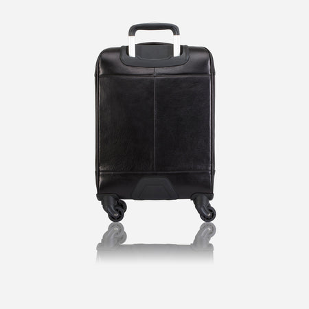 "4 Wheel Cabin Trolley 20"", Soft Black"