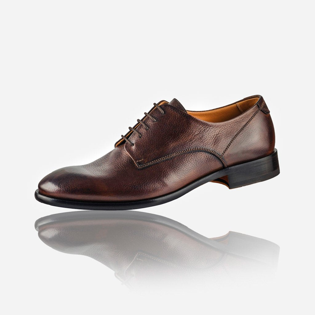 Men's Leather Lace Up Shoe, Brown