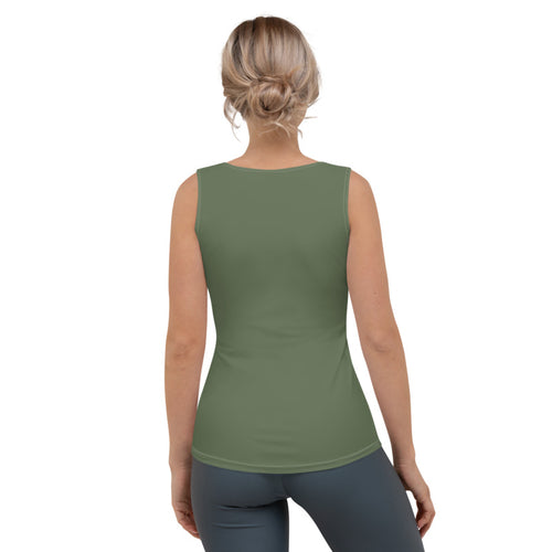 Olive Green Flex Tank Top