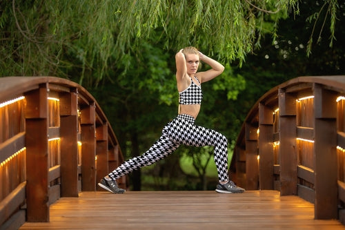 Houndstooth COMFORTI™ Fitness Set