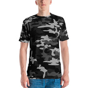 Gray Camo Men's Athletic Tee