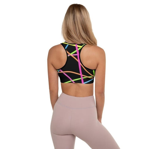 Neon Flex Padded Sports Bra