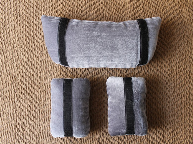 Fox 3 pcs Newborn photography auxiliary props velvet lying pillow