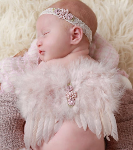 Fox Newborn Baby Angel Outfit Set Photo Prop for Photography
