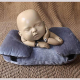 Load image into Gallery viewer, Fox 3 pcs Newborn photography auxiliary props velvet lying pillow