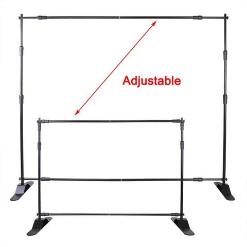 Fox Equipment Framework Telescopic Stand Adjustable Photographic Backdrop Display Stand