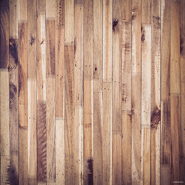 Light Brown Wooden Mat Floor-Foxbackdrop