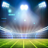Fox Light Stadium Running Track Sports Vinyl Backdrop-Foxbackdrop