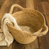 Load image into Gallery viewer, Fox Natural Baskets for Newborn Photo Props