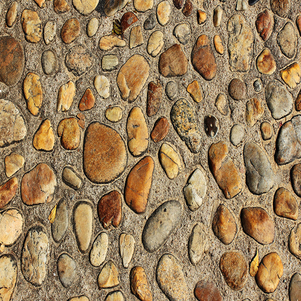 Fox Dark Color Cobble Stone Mat Floor-Foxbackdrop