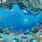 Fox Undersea World Children Vinyl Rolled Backdrops