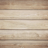 Fox Brown Wood Wall Newborn Photos Vinyl Backdrop